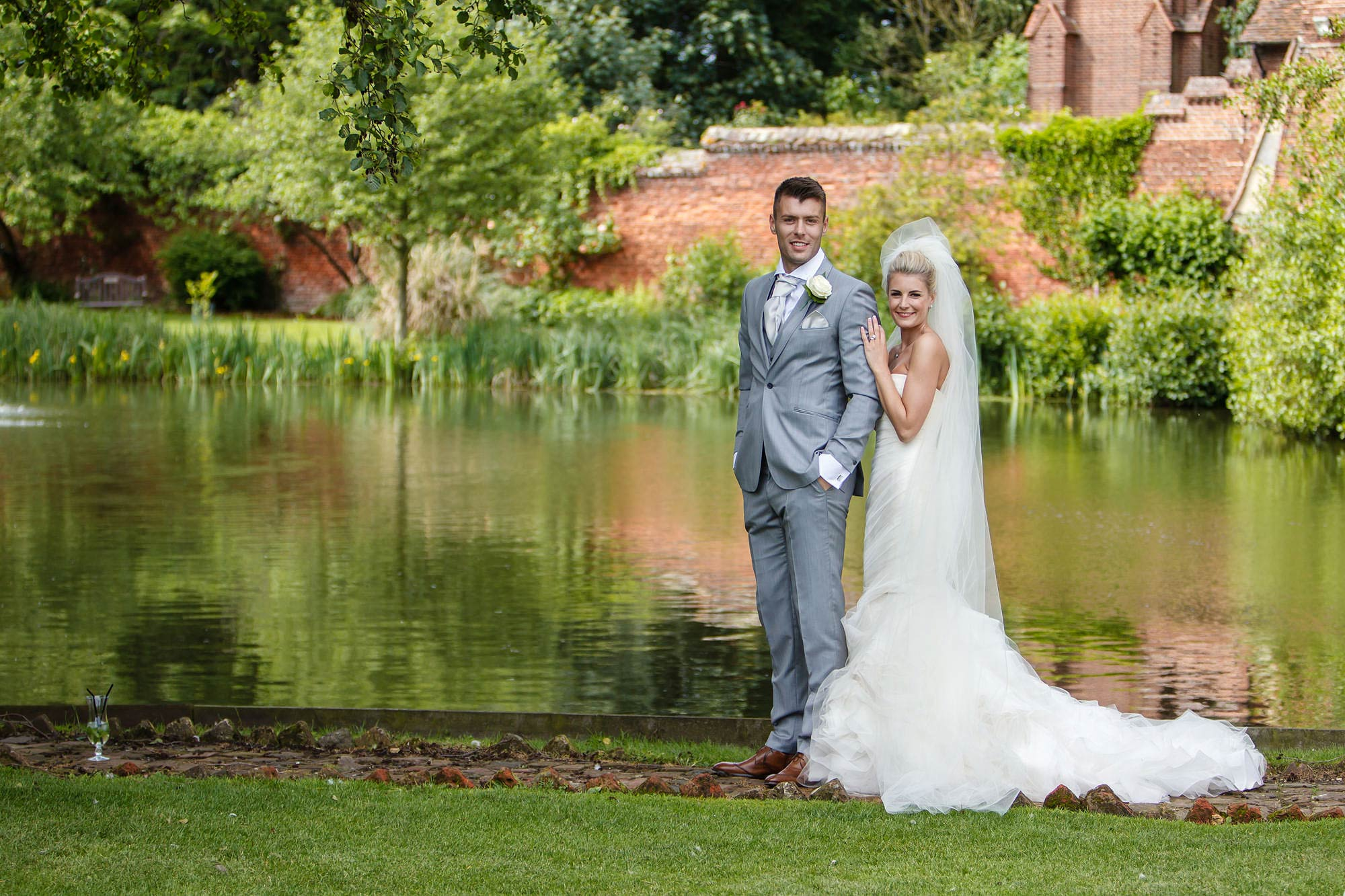 celebrity wedding Leez Priory