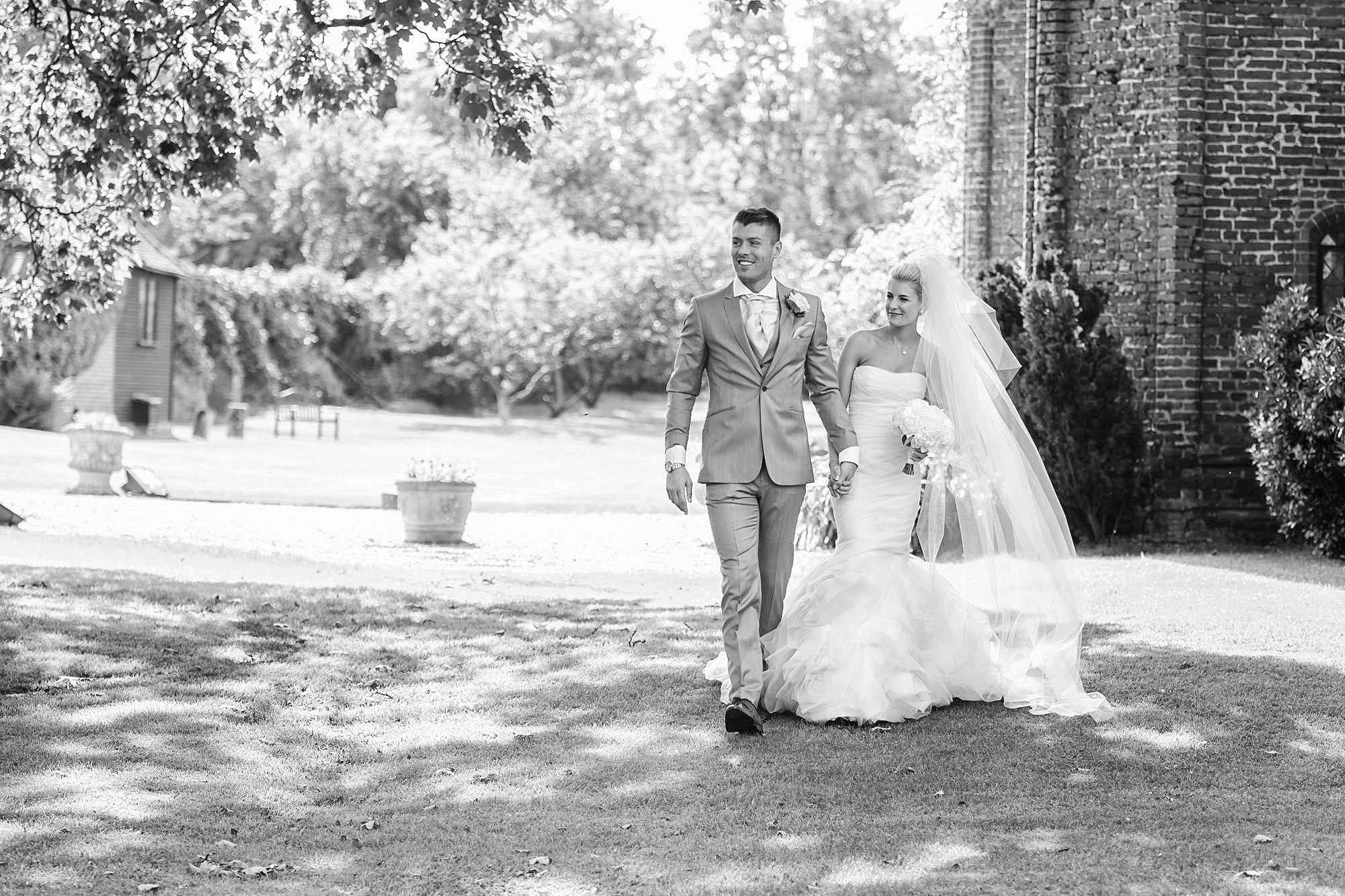 sunny wedding leez priory