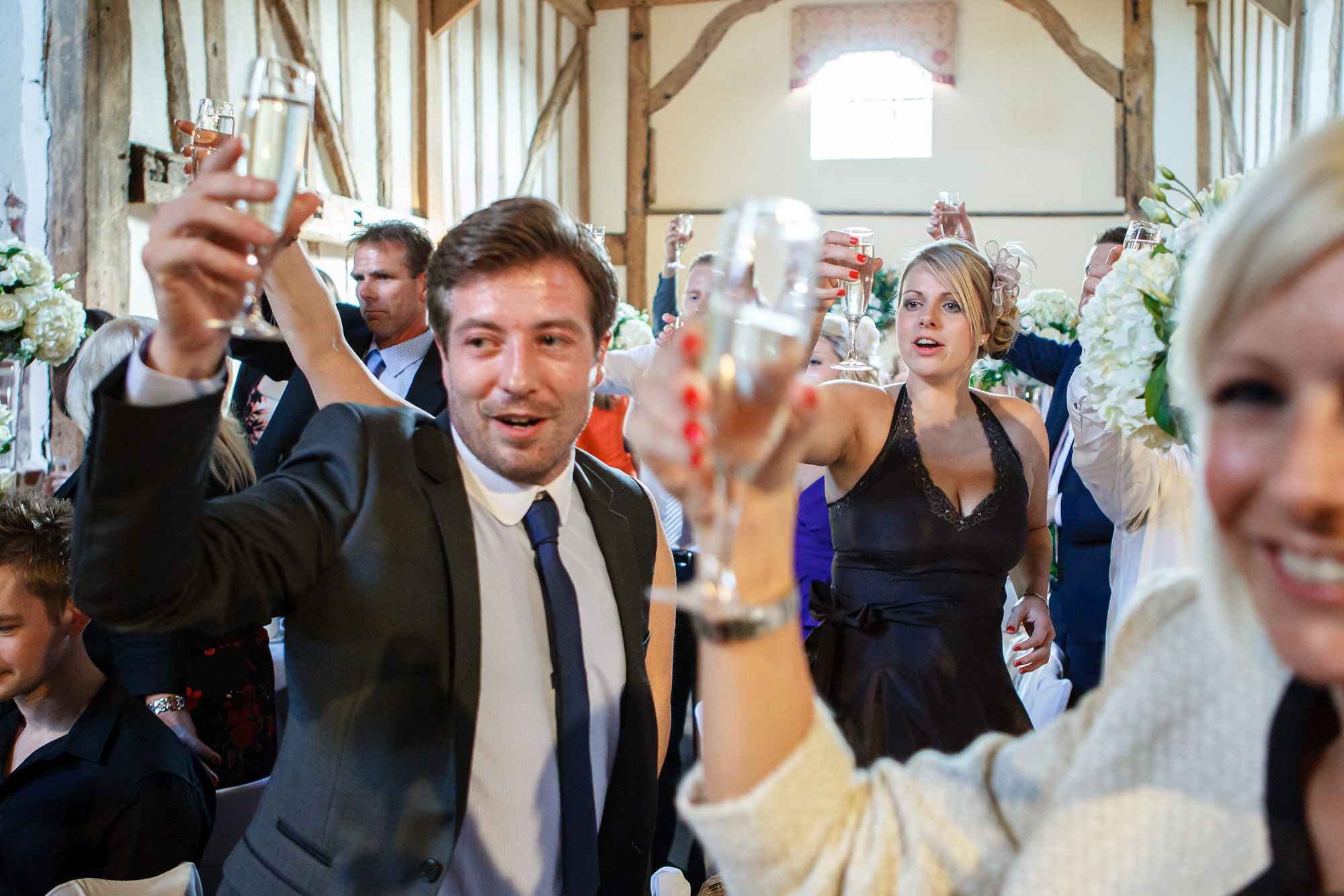 wedding toasts at leez priory