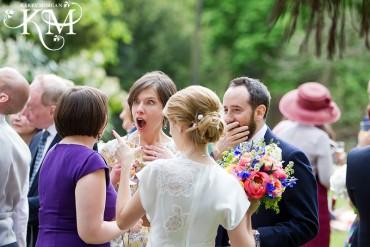 Hampton Court House wedding photos