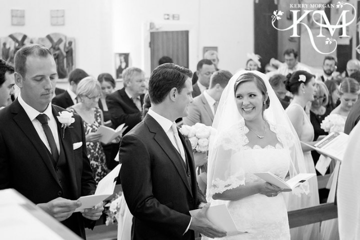 buckinghamshire wedding photographer at St Theresa's RC Church, Princes Risborough wedding