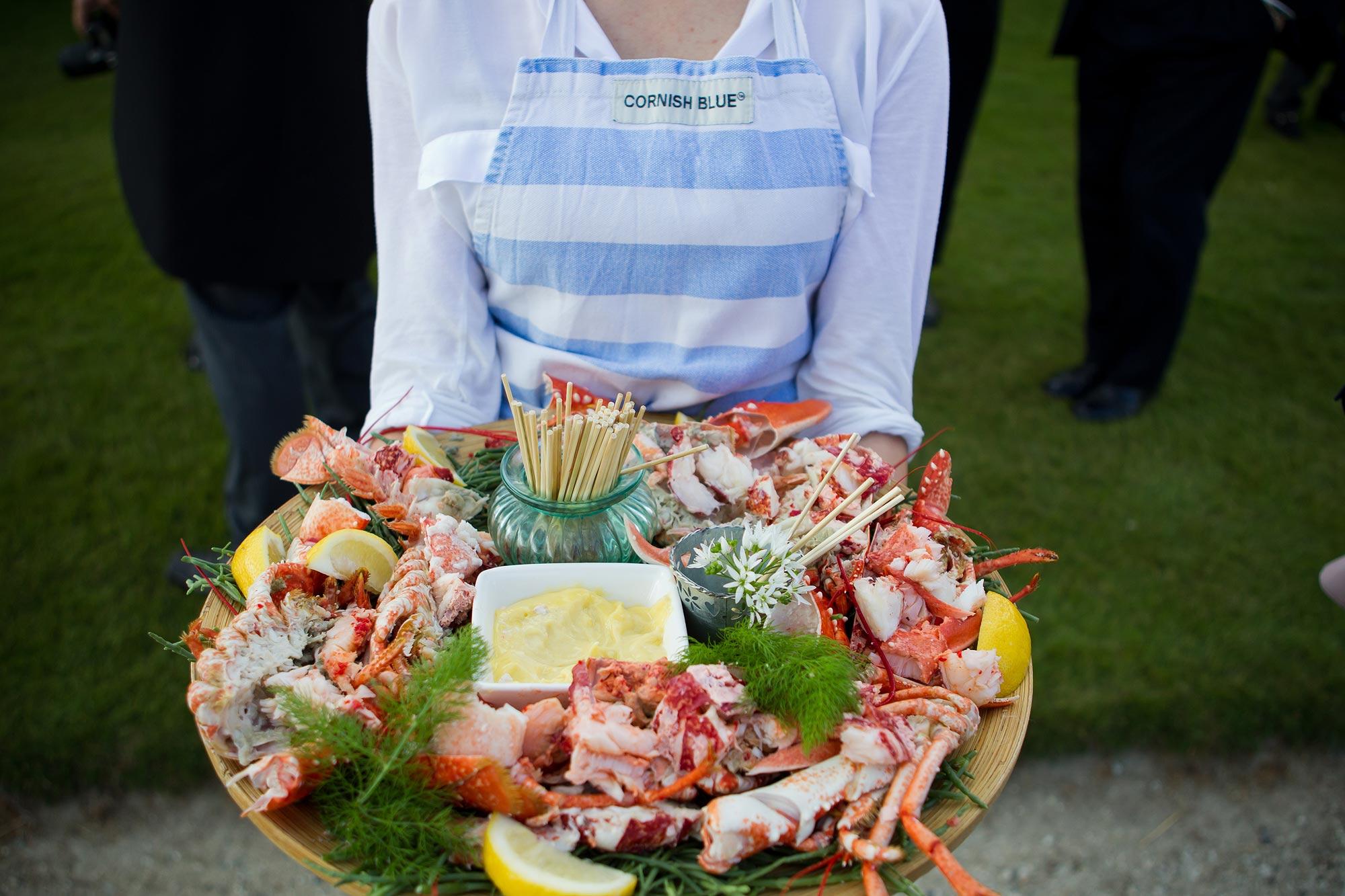lobster at bromley wedding