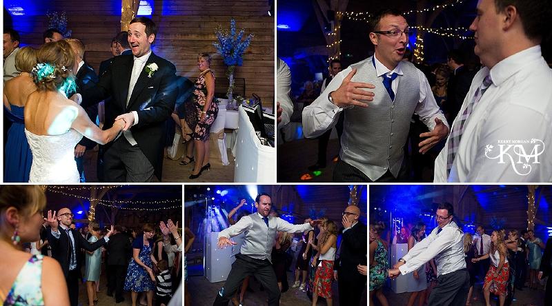 dancing at court lodge barn wedding