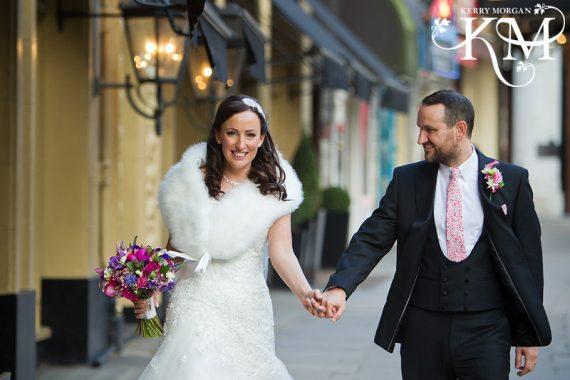 London Waldorf Hotel wedding