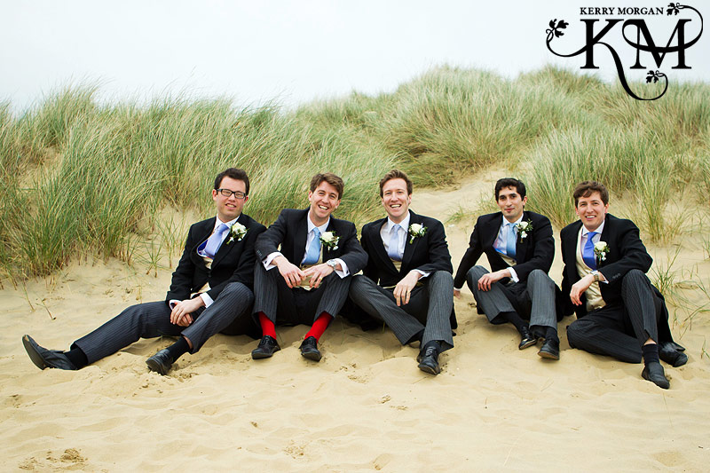 camber sands wedding photos