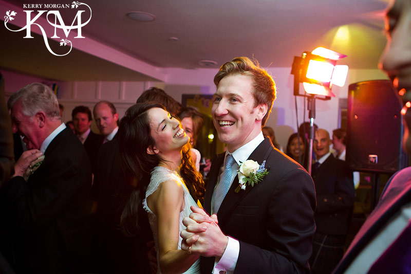 dancing at the Gallivant hotel wedding