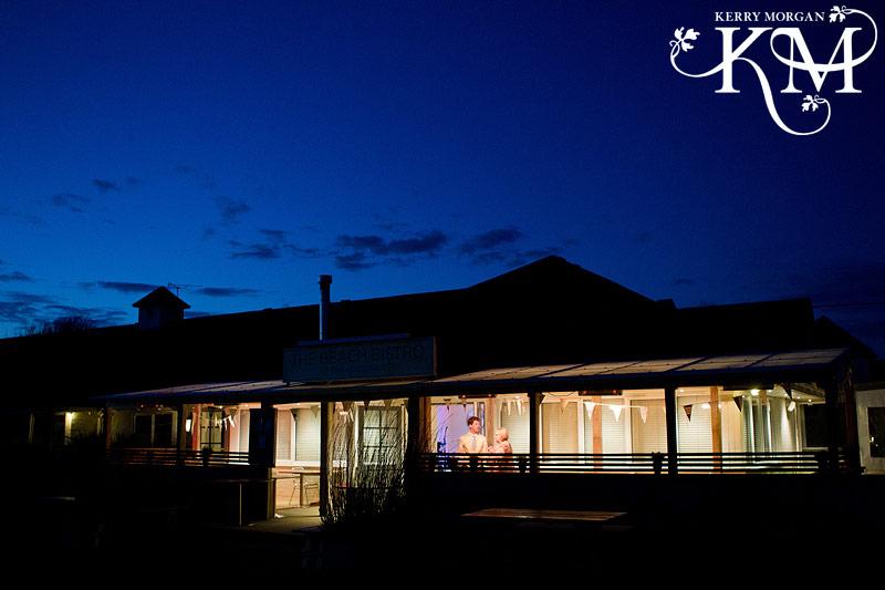 Gallivant hotel at night
