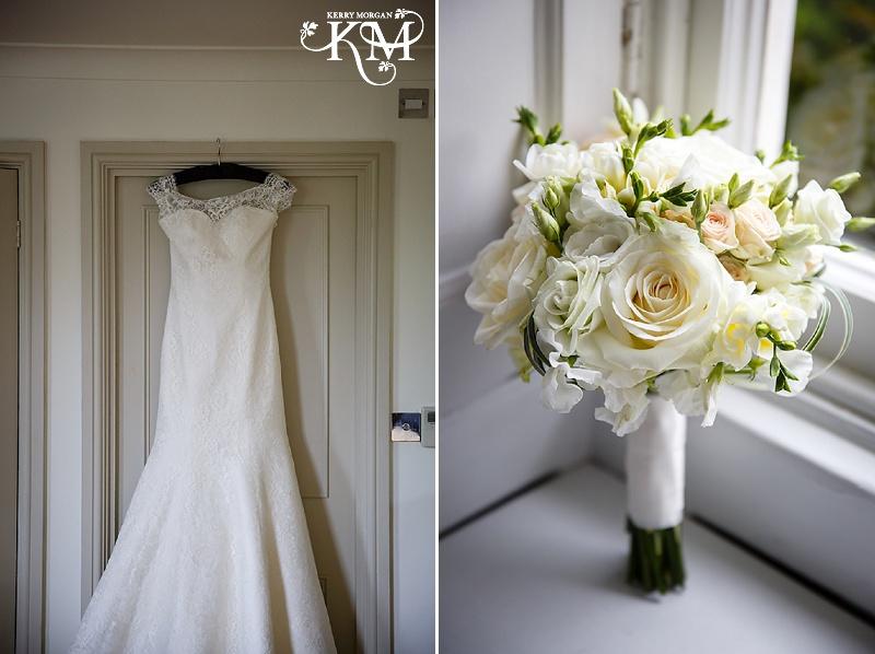 Stoke place wedding flowers