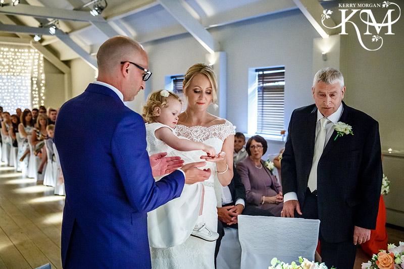 Stoke Place wedding photos ceremony