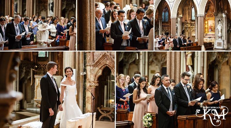 Farm Street Church London wedding photographer