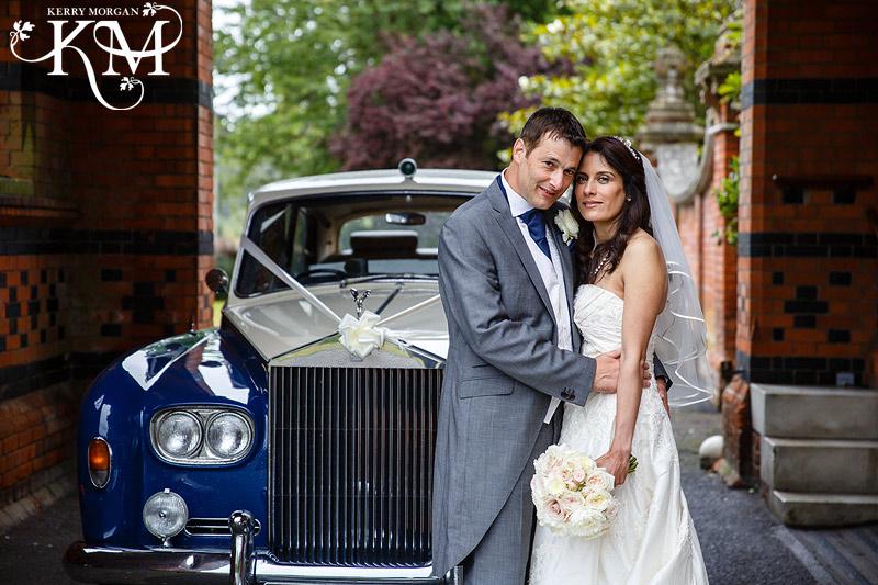 Elvetham wedding photography rain