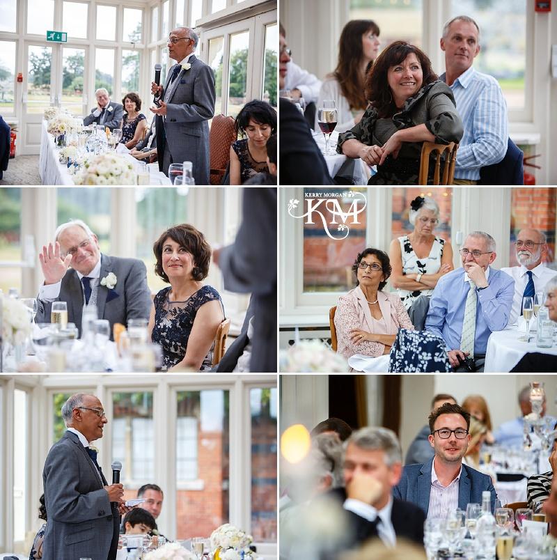 speeches at Elvetham wedding
