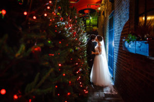 Bleeding Heart Christmas Wedding