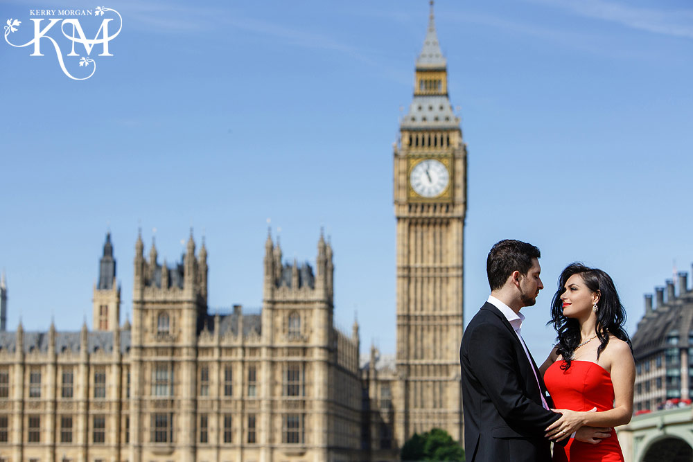 big ben couples shoot