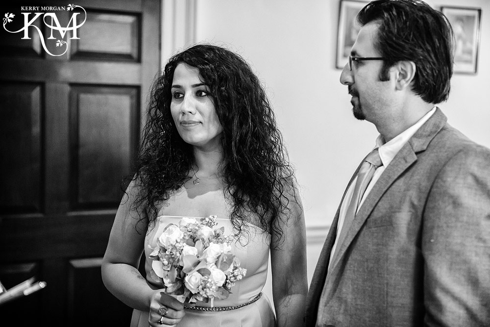 Merton Register Office marriage ceremony photos