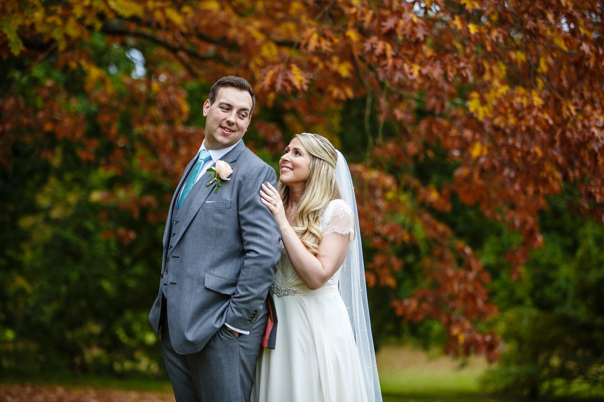 Botleys Mansion autumn wedding