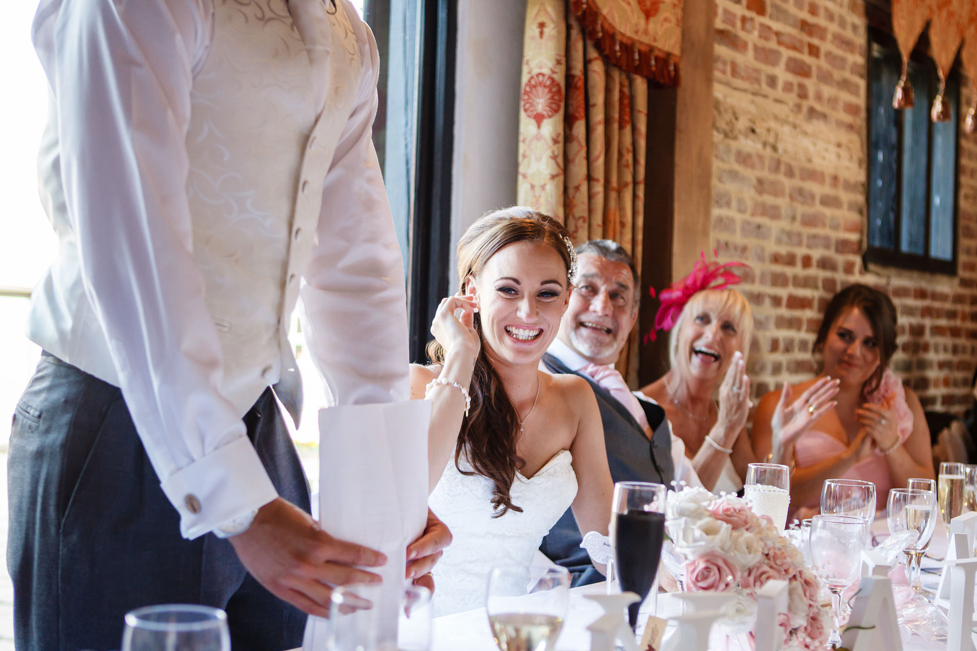 Leez Priory Wedding