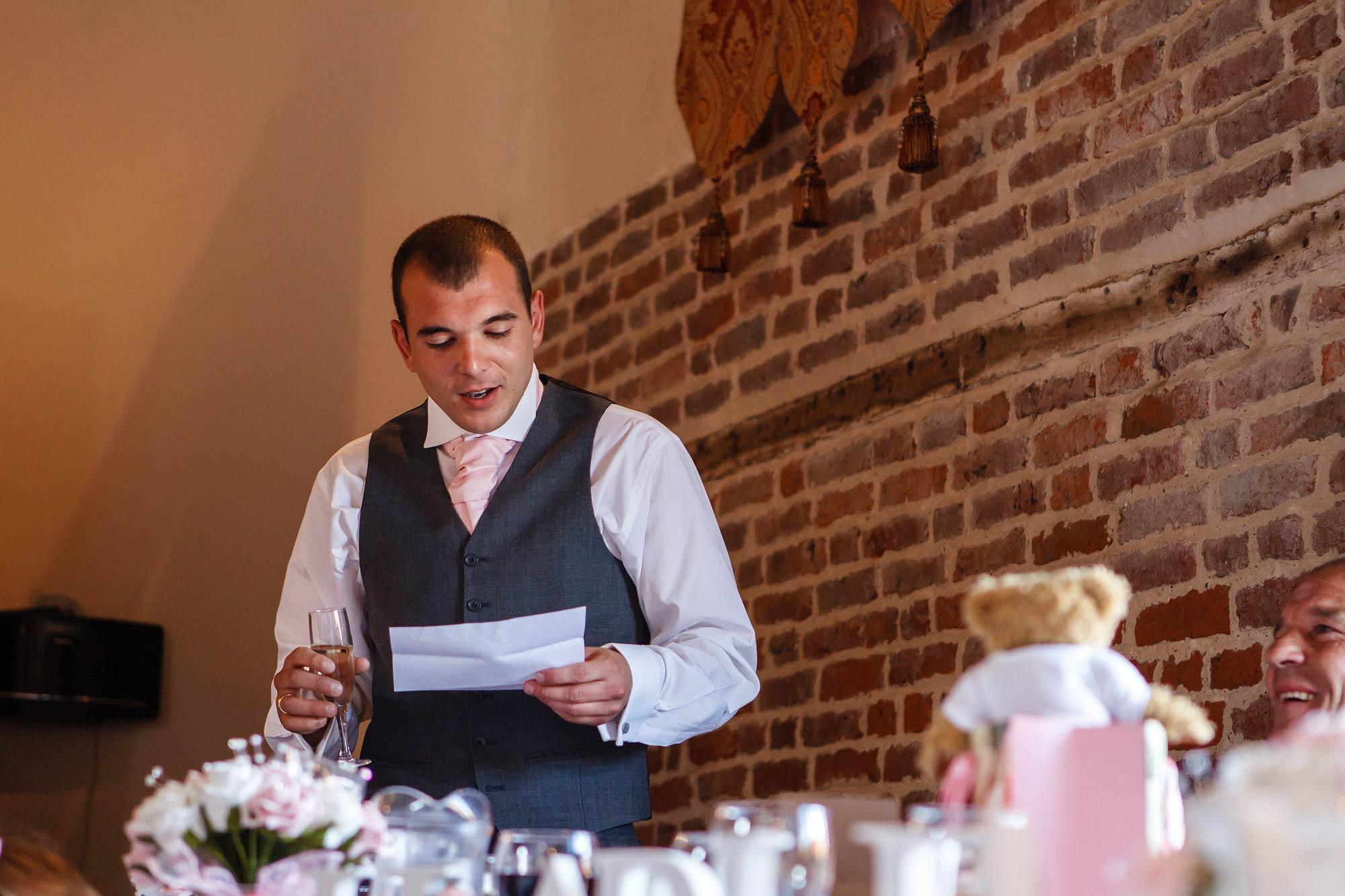 bestmans speech at essex wedding