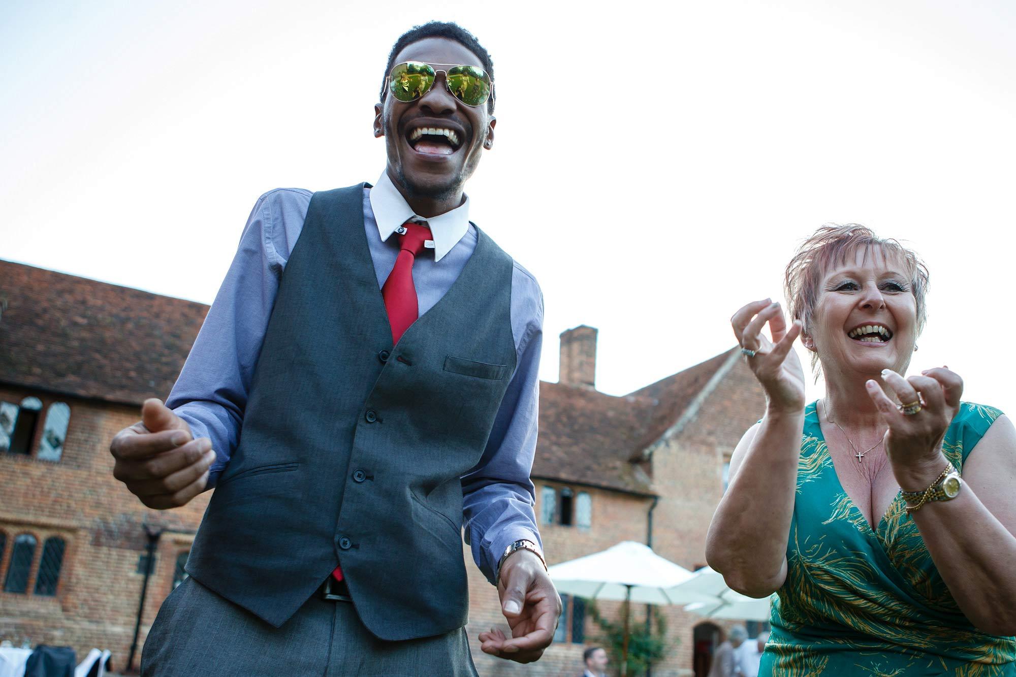 Leez Priory Wedding groovy