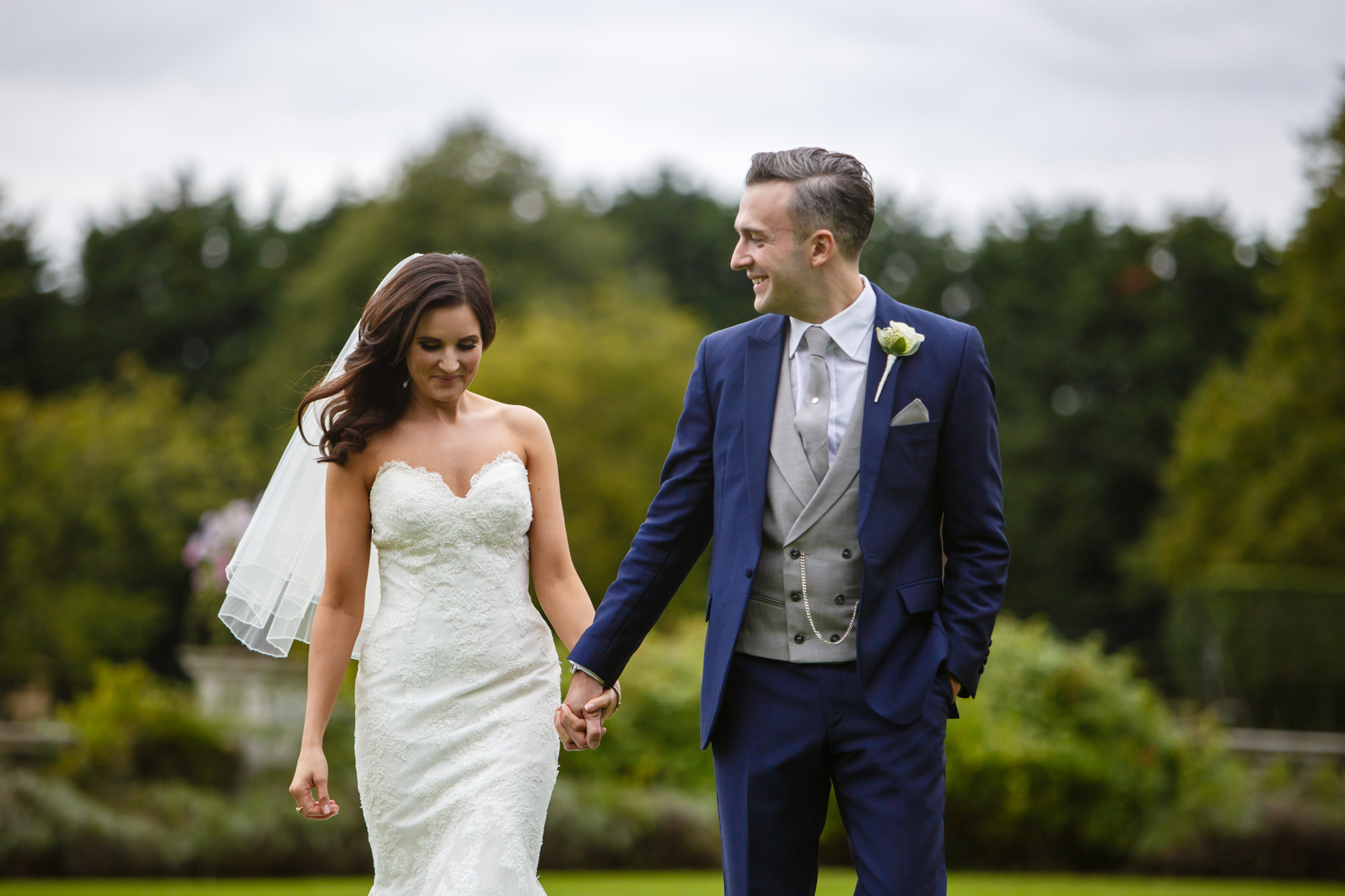 wedding at Parklands Quendon Hall
