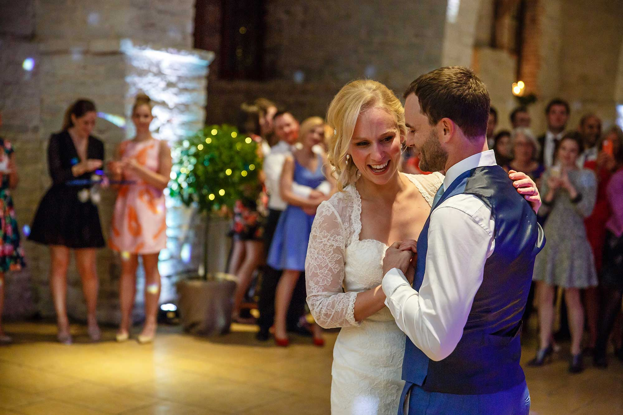 Tithe Barn first dance