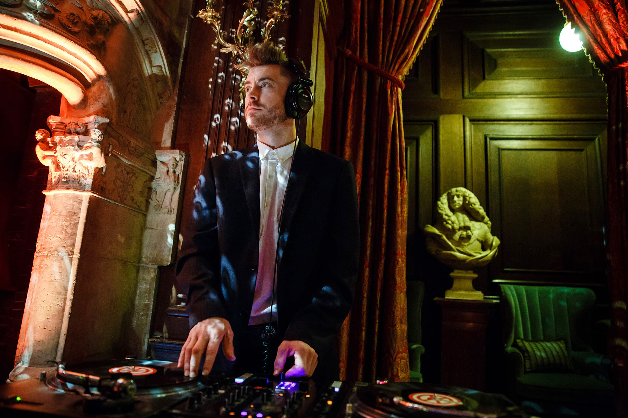 DJ at Cliveden House Wedding