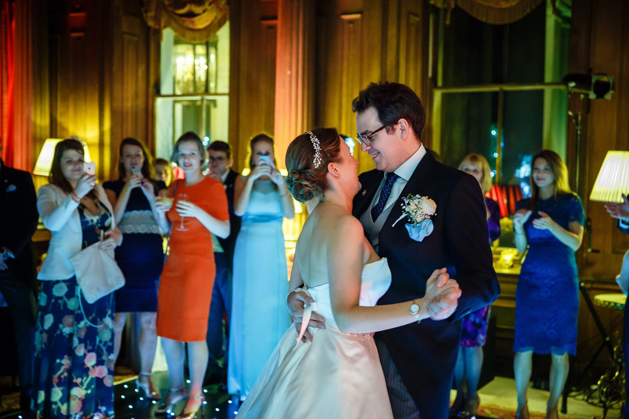 first dance at Cliveden House Wedding