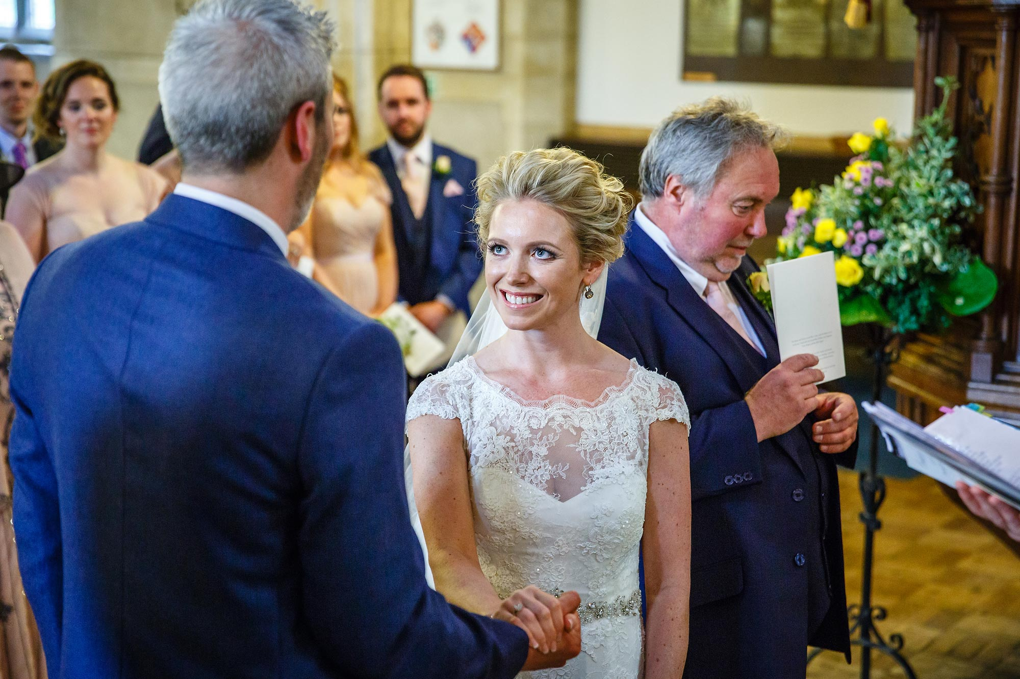 vows at Hedsor House Wedding