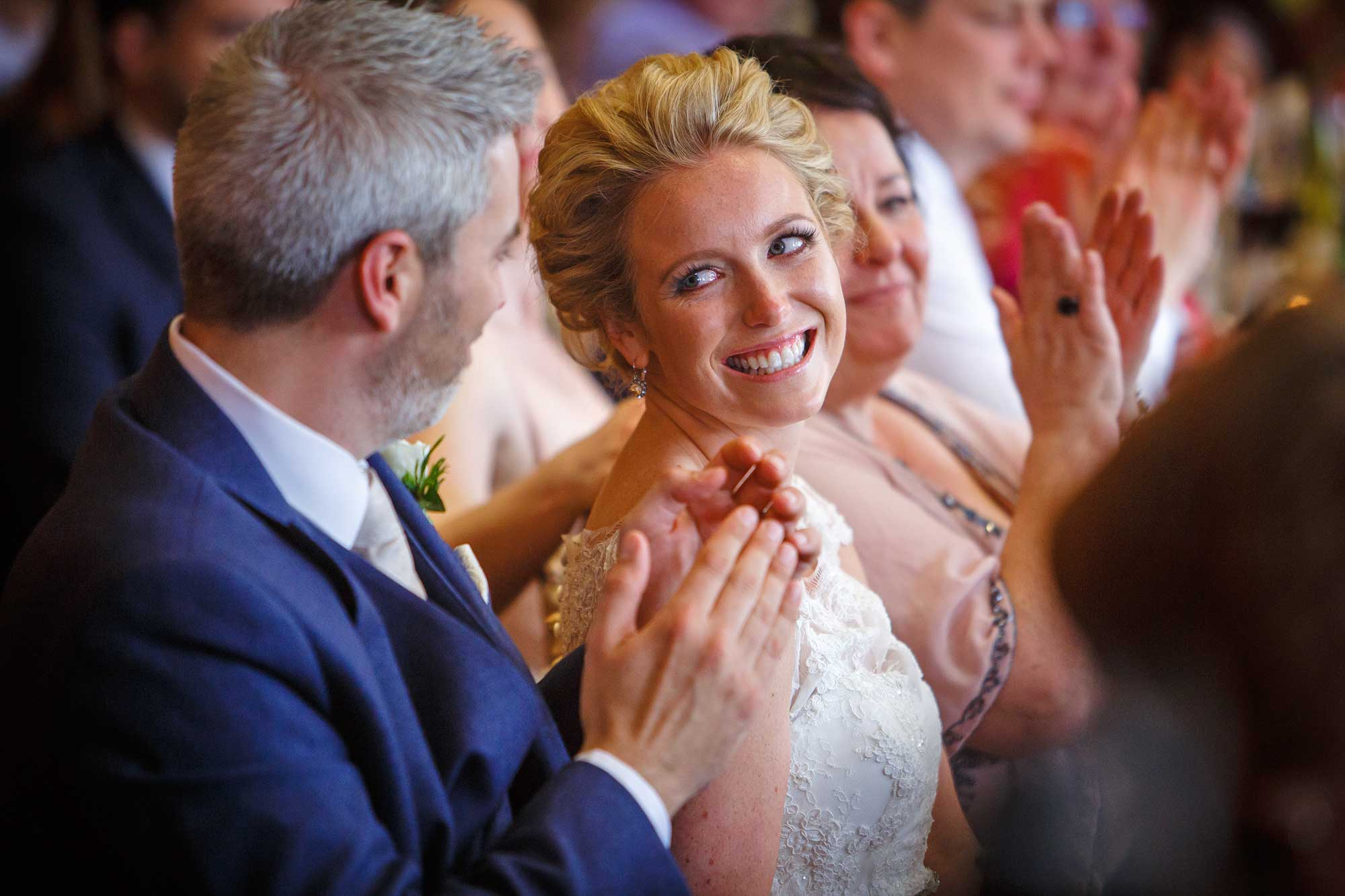 bride at Hedsor House Wedding