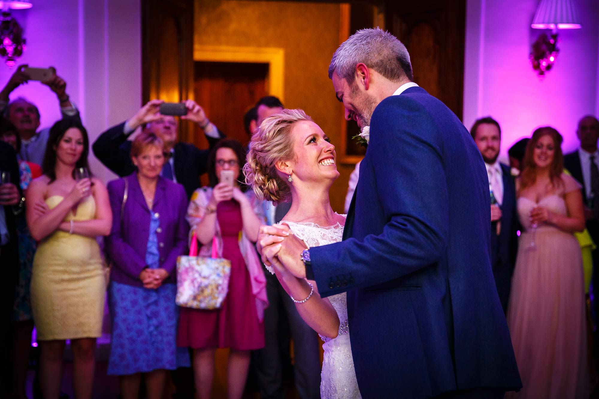 forst dance at Hedsor House Wedding
