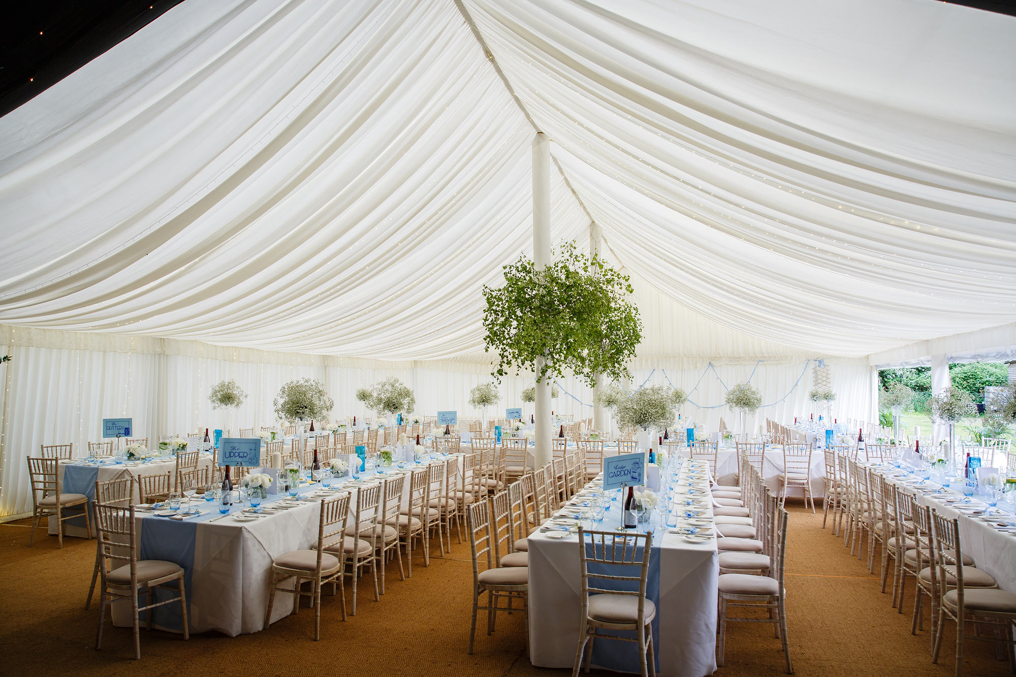 wedding tables kent
