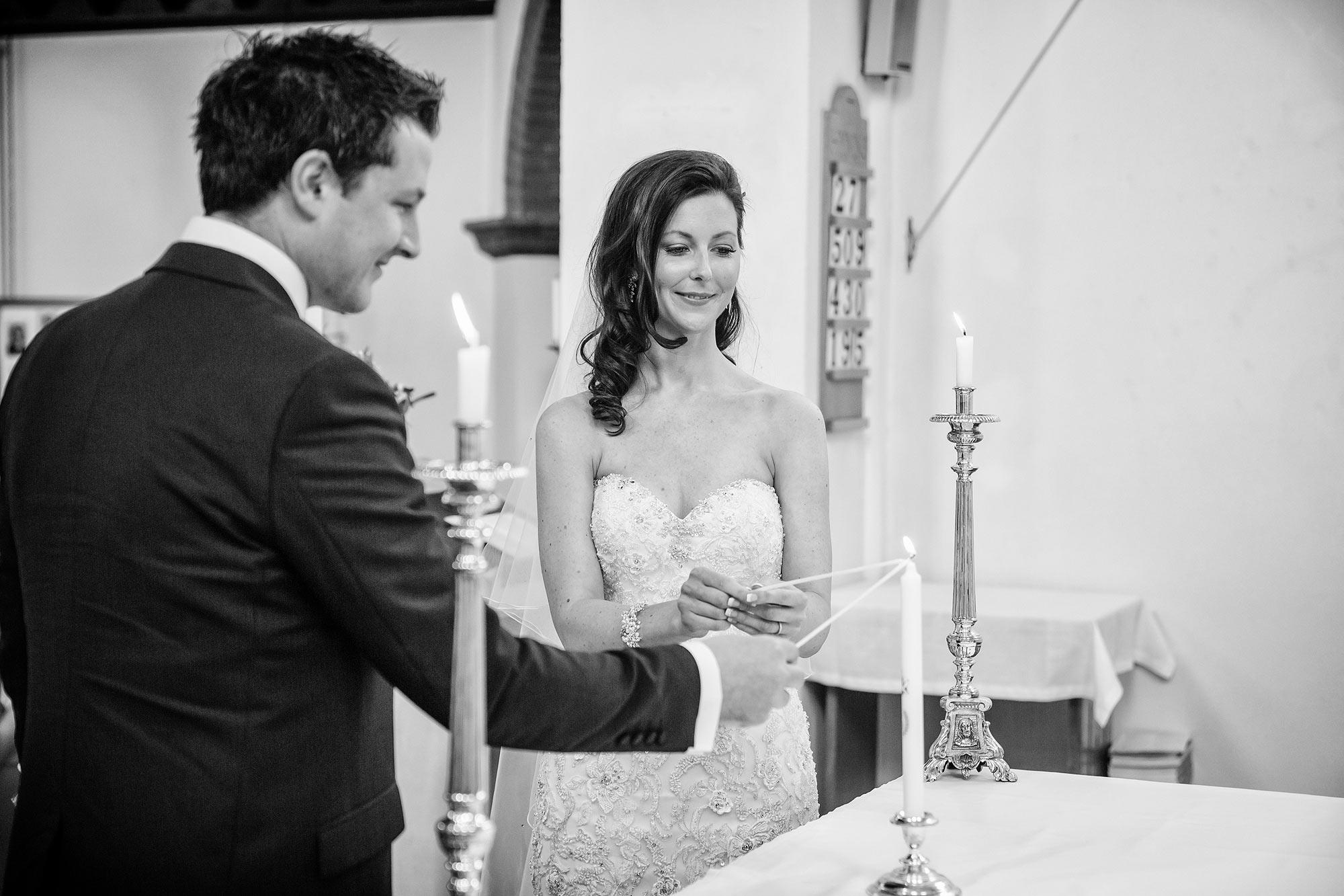 lighting the candle catholic wedding