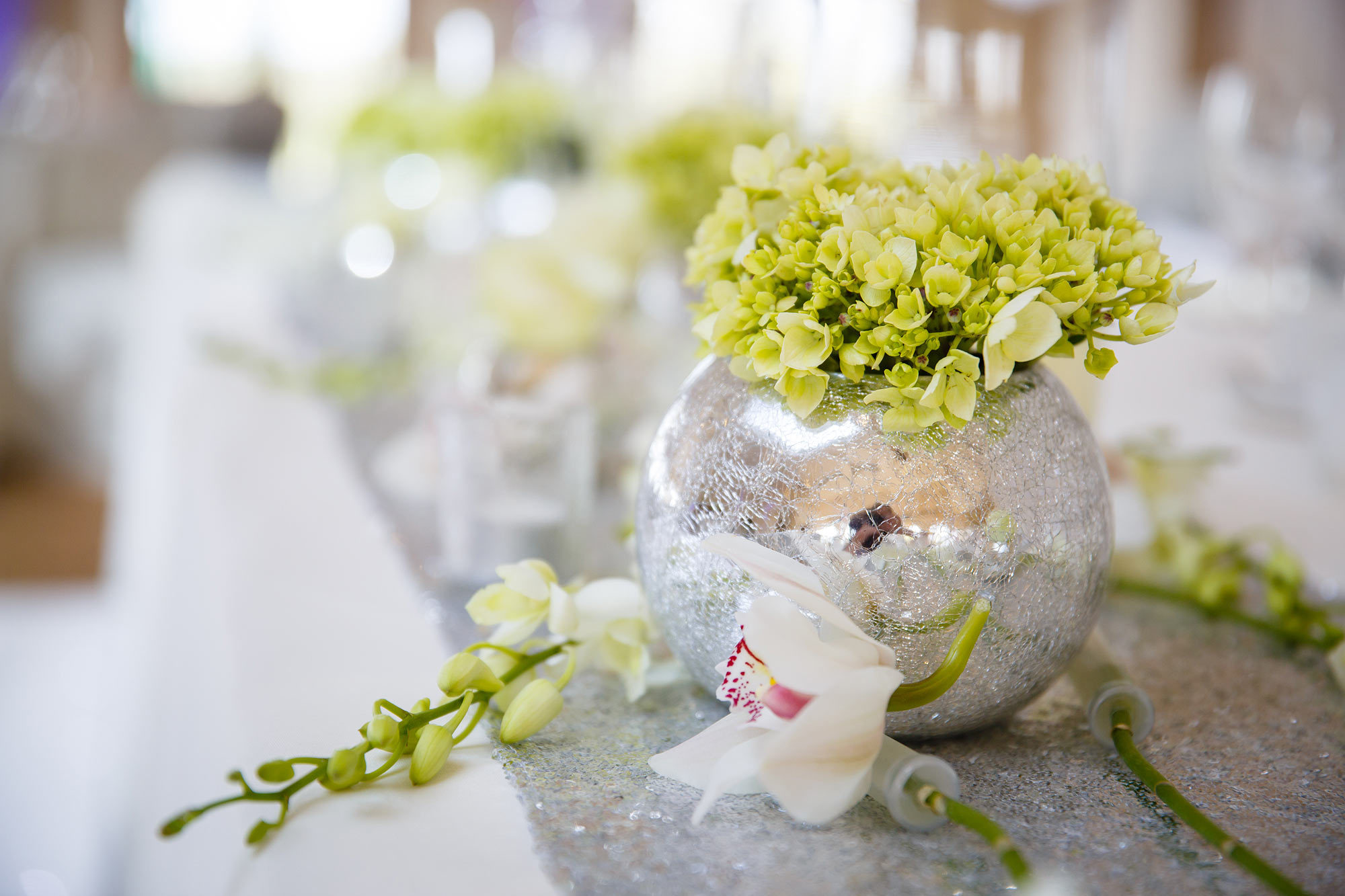 flowers at Stock Brook Country Club Wedding
