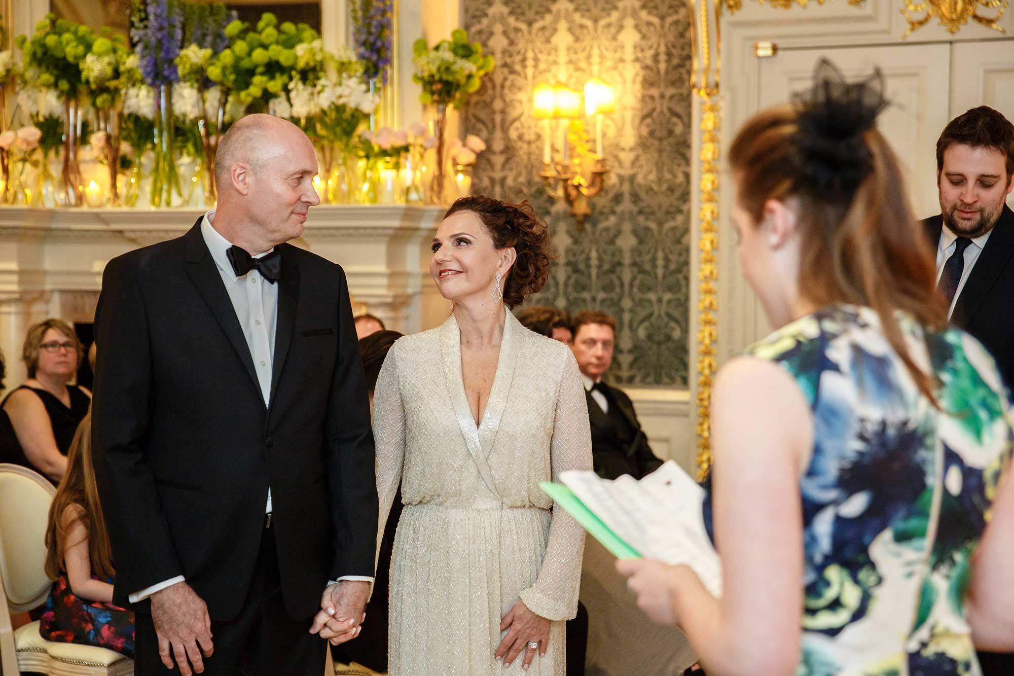 reading at london wedding