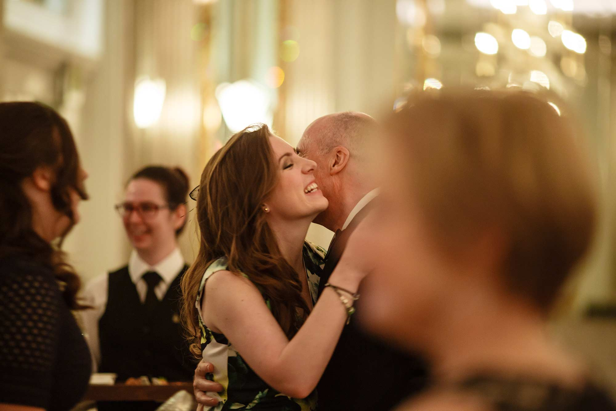 Claridges documentary wedding photographer