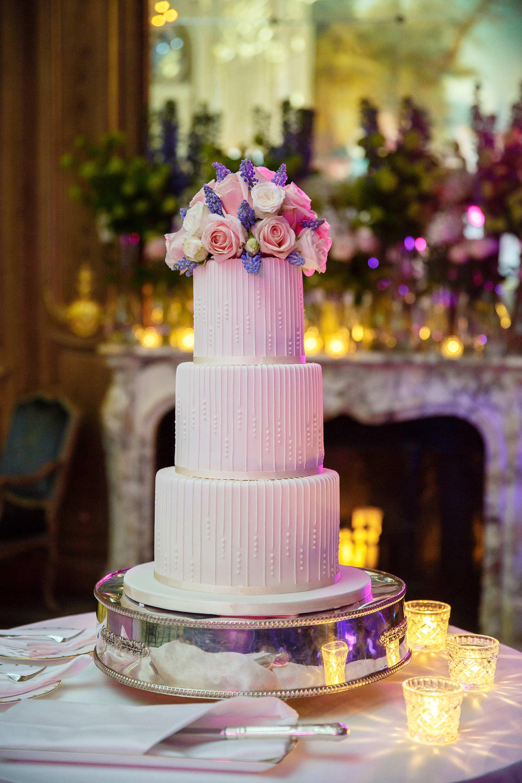 wedding cake claridges