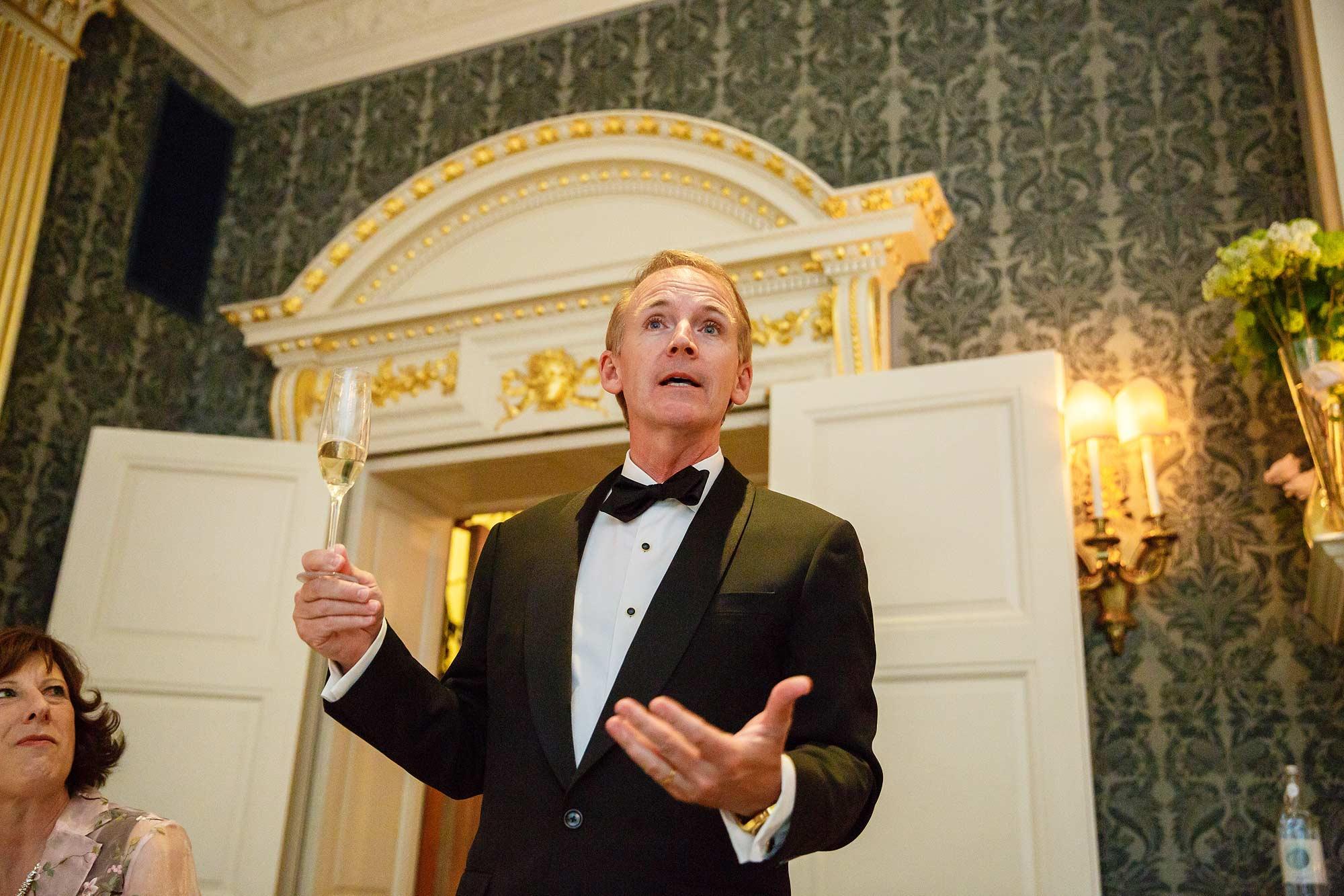 speeches at claridge's