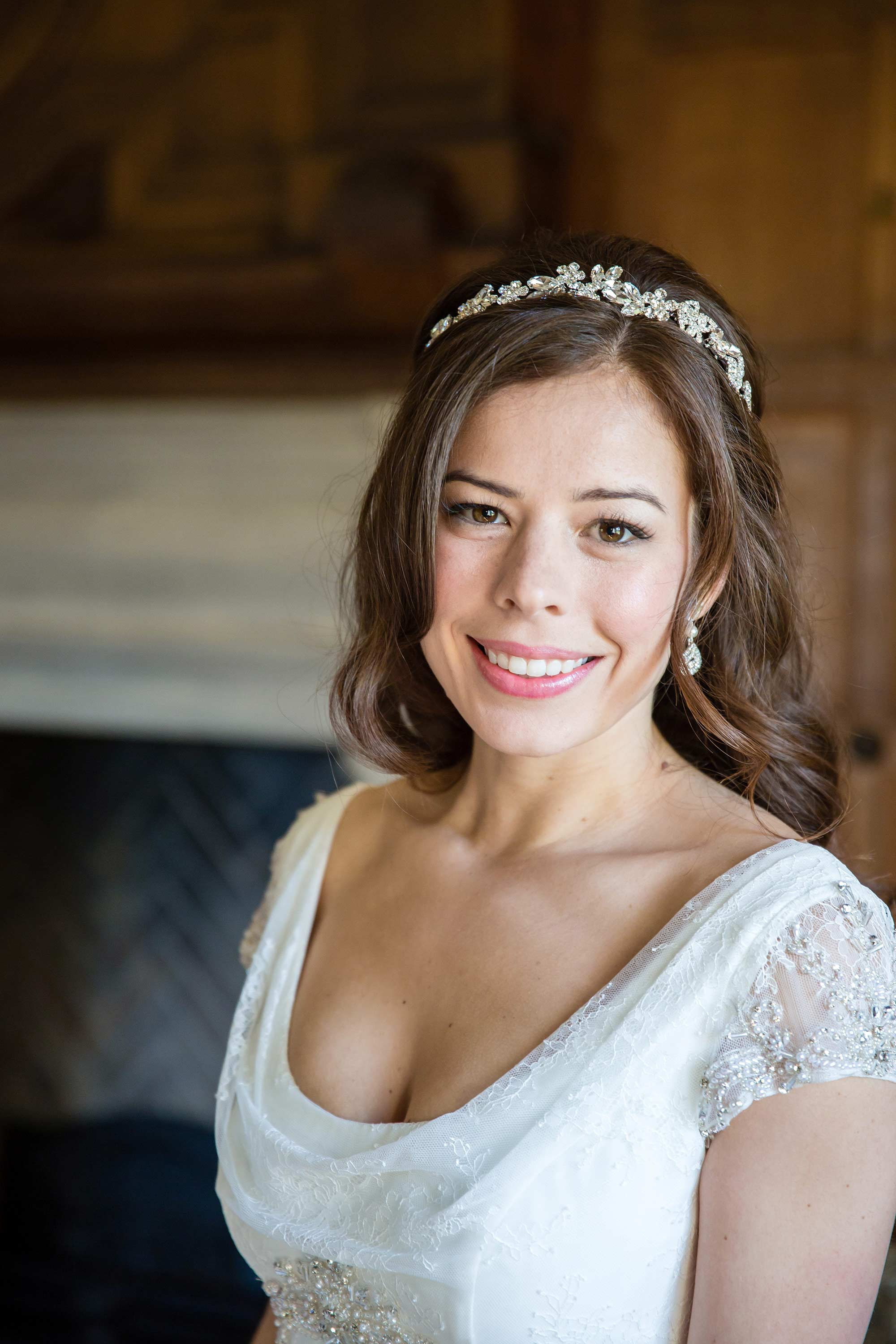 Portrait picture of Amy the bride