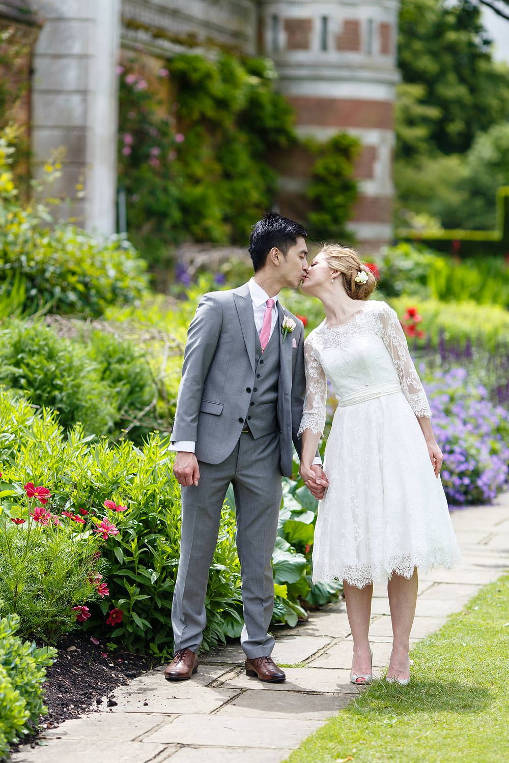 They kiss at Cliveden House
