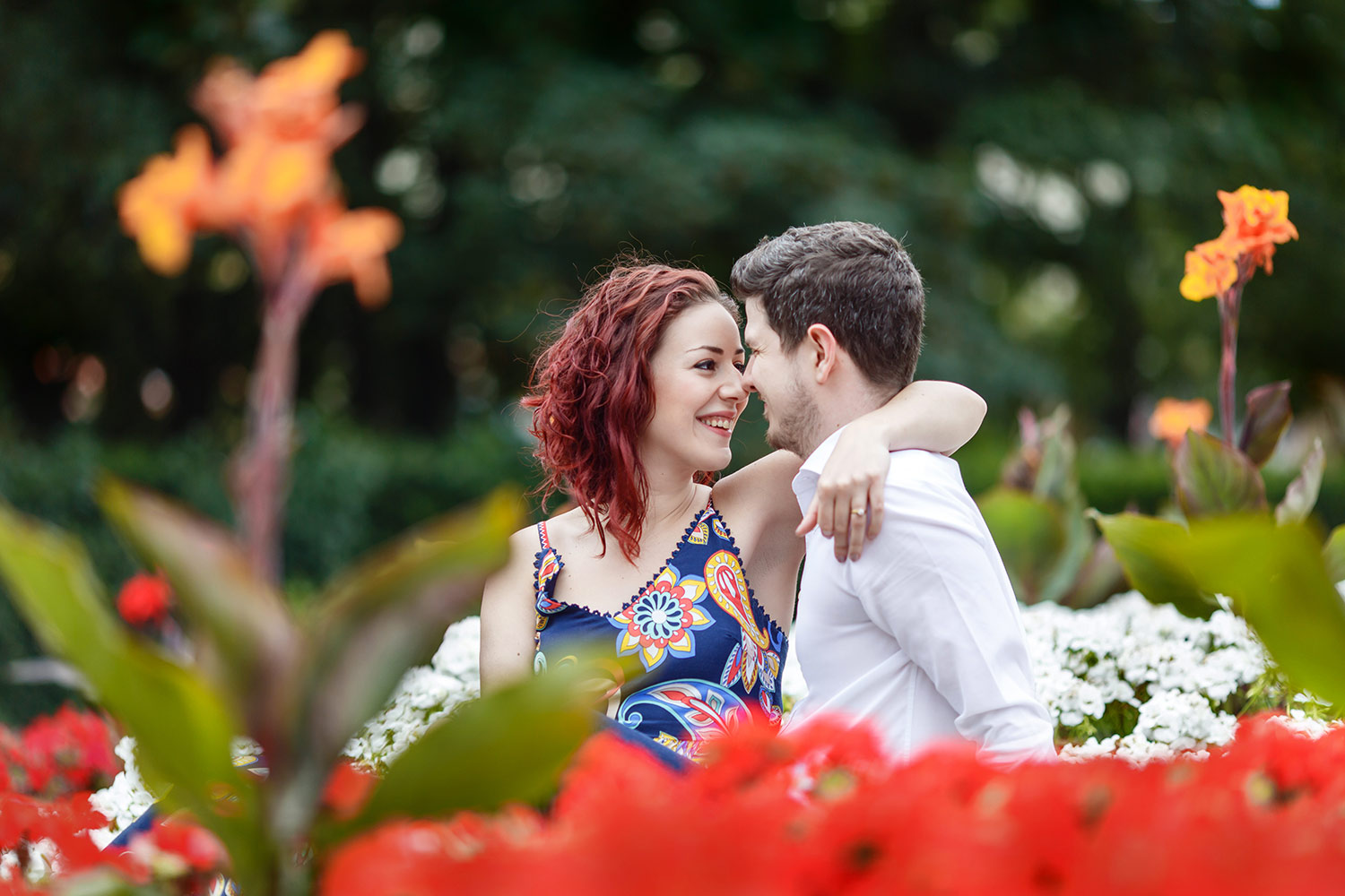 crystal palace engagement shoot