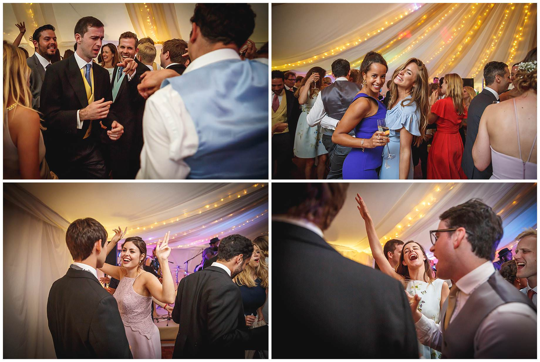 disco at Goodnestone Park Wedding