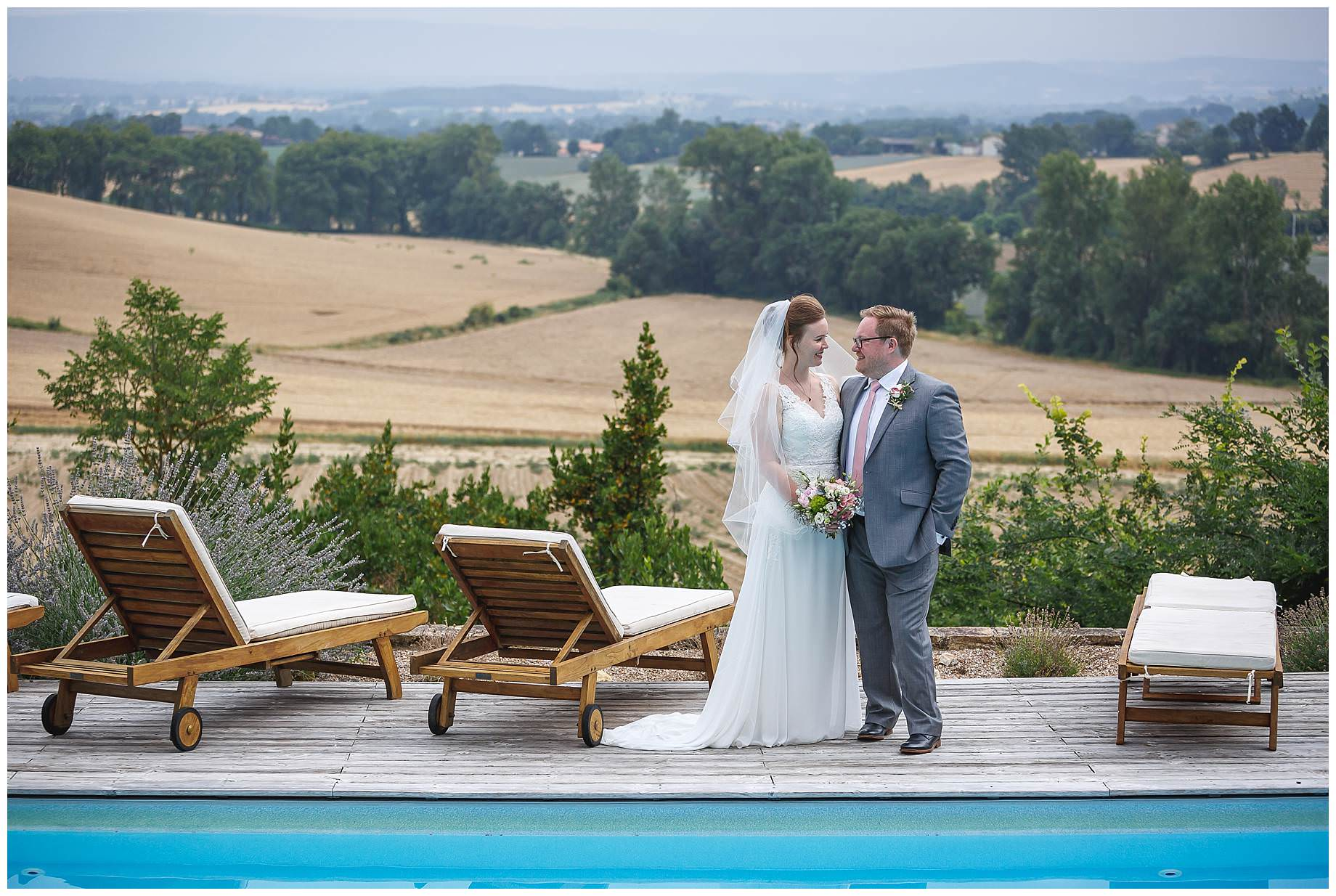 Chateau Brametourte Wedding photographer