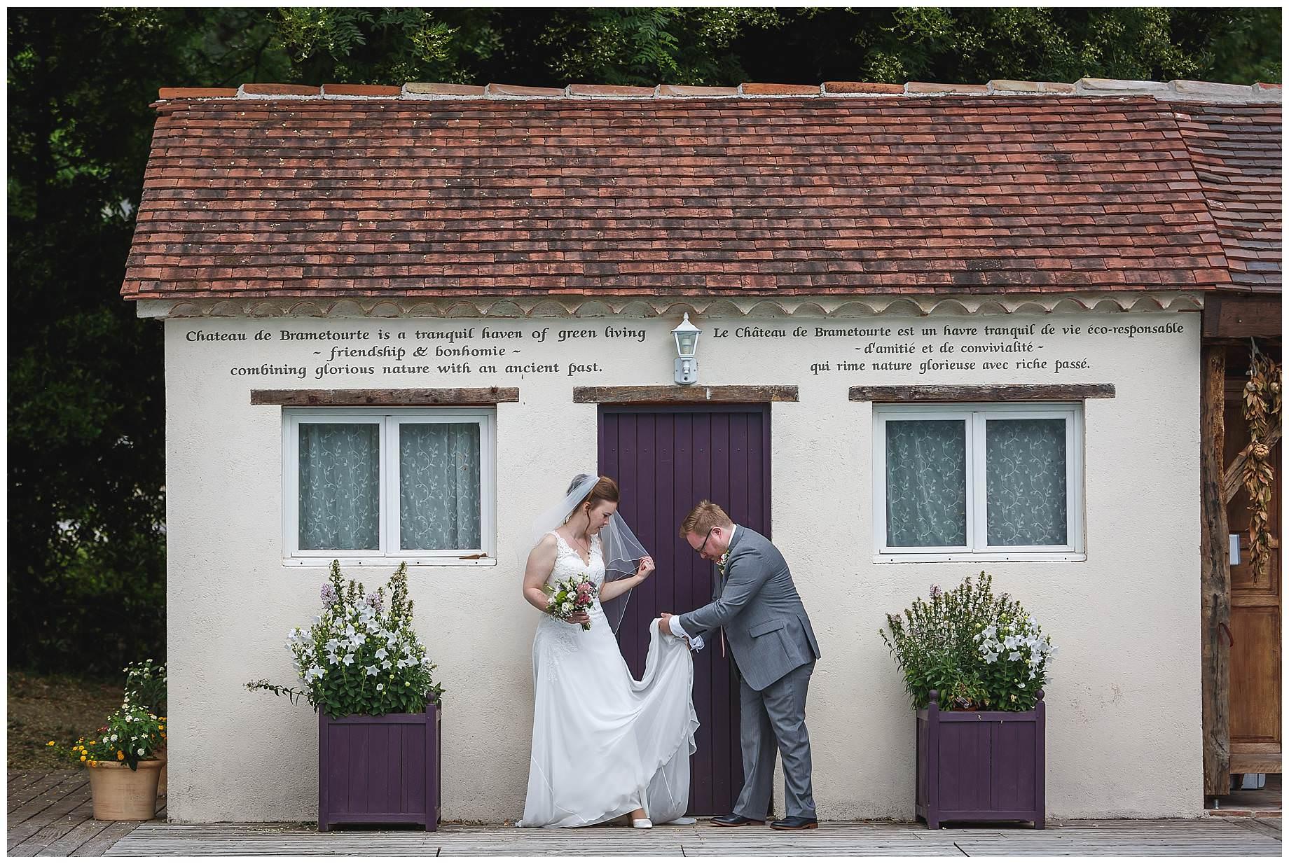 Chateau Brametourte Wedding Pictures