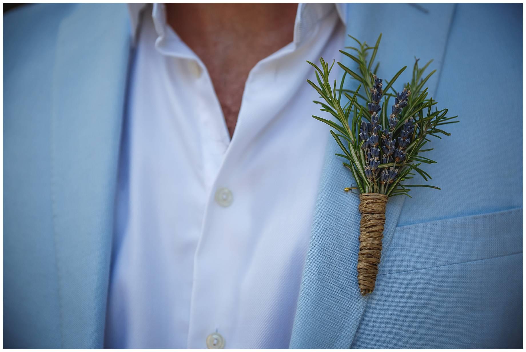 lavender button hole