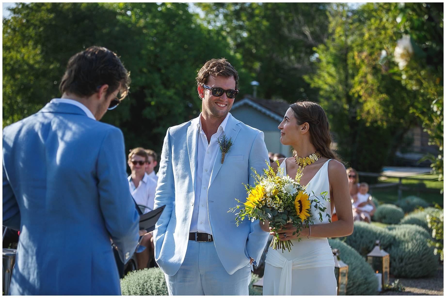 wedding at Chateau du Bijou