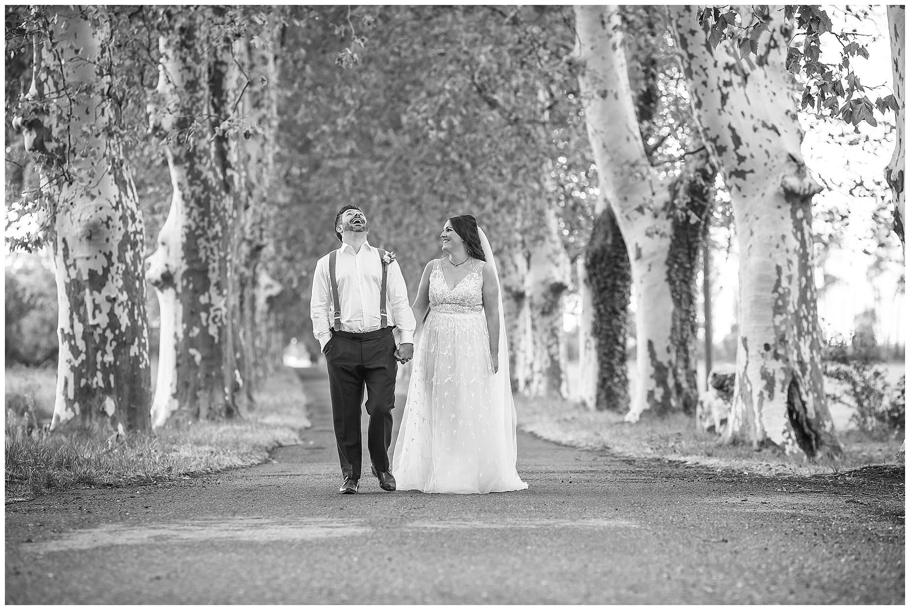 plain trees france wedding