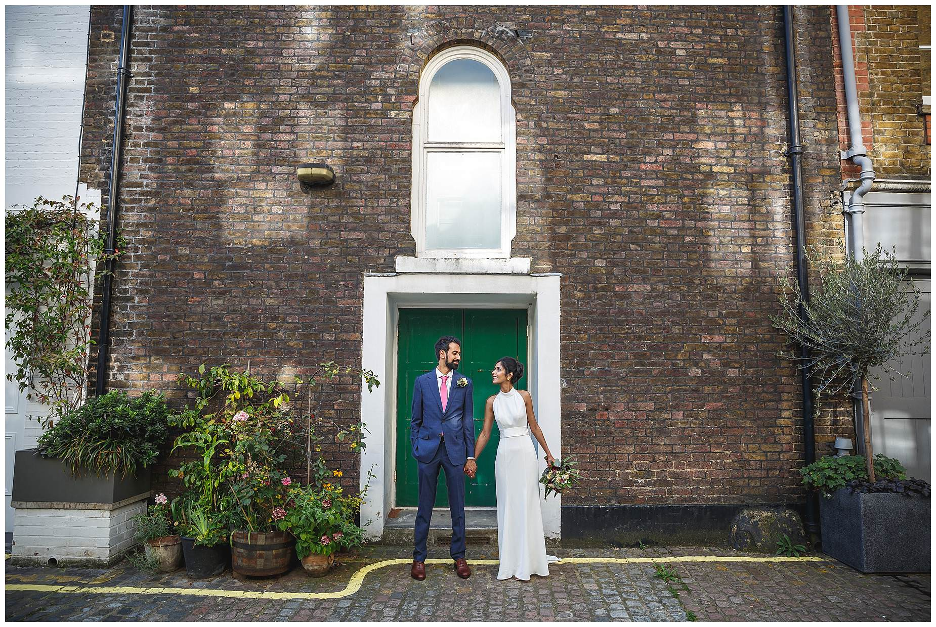 London wedding at Asia House