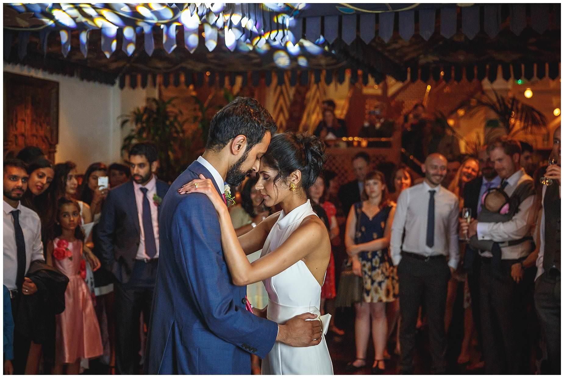 Wedding at La Porte Des Indes first dance