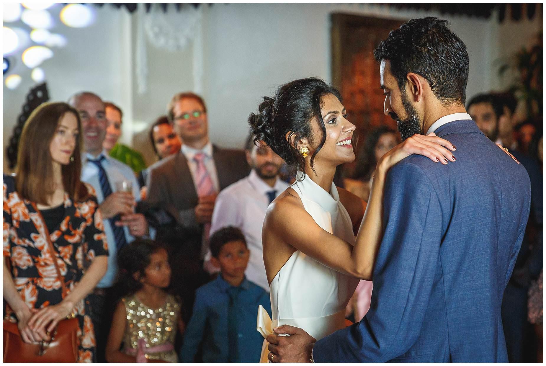 First Dance at La Porte Des Indes Wedding