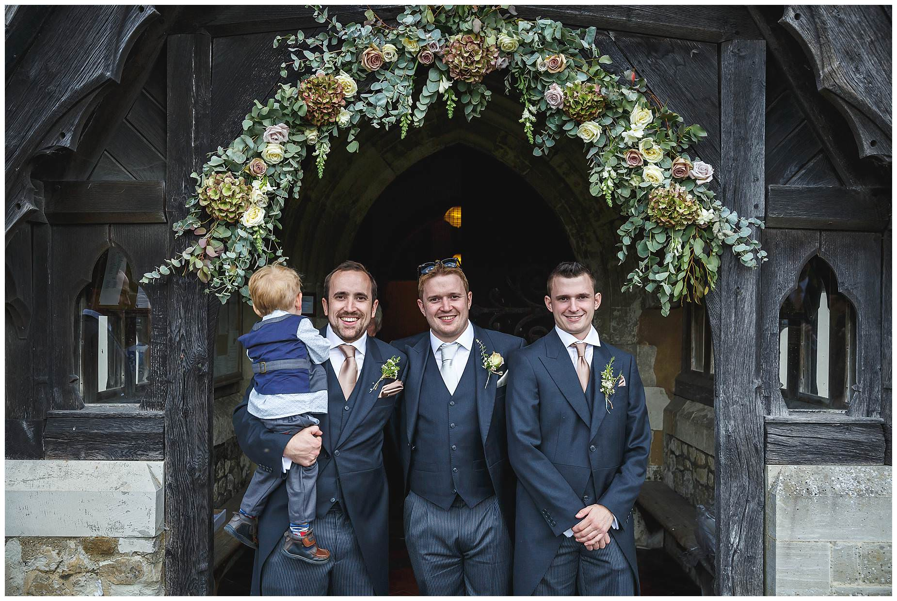 wedding at bury court barn